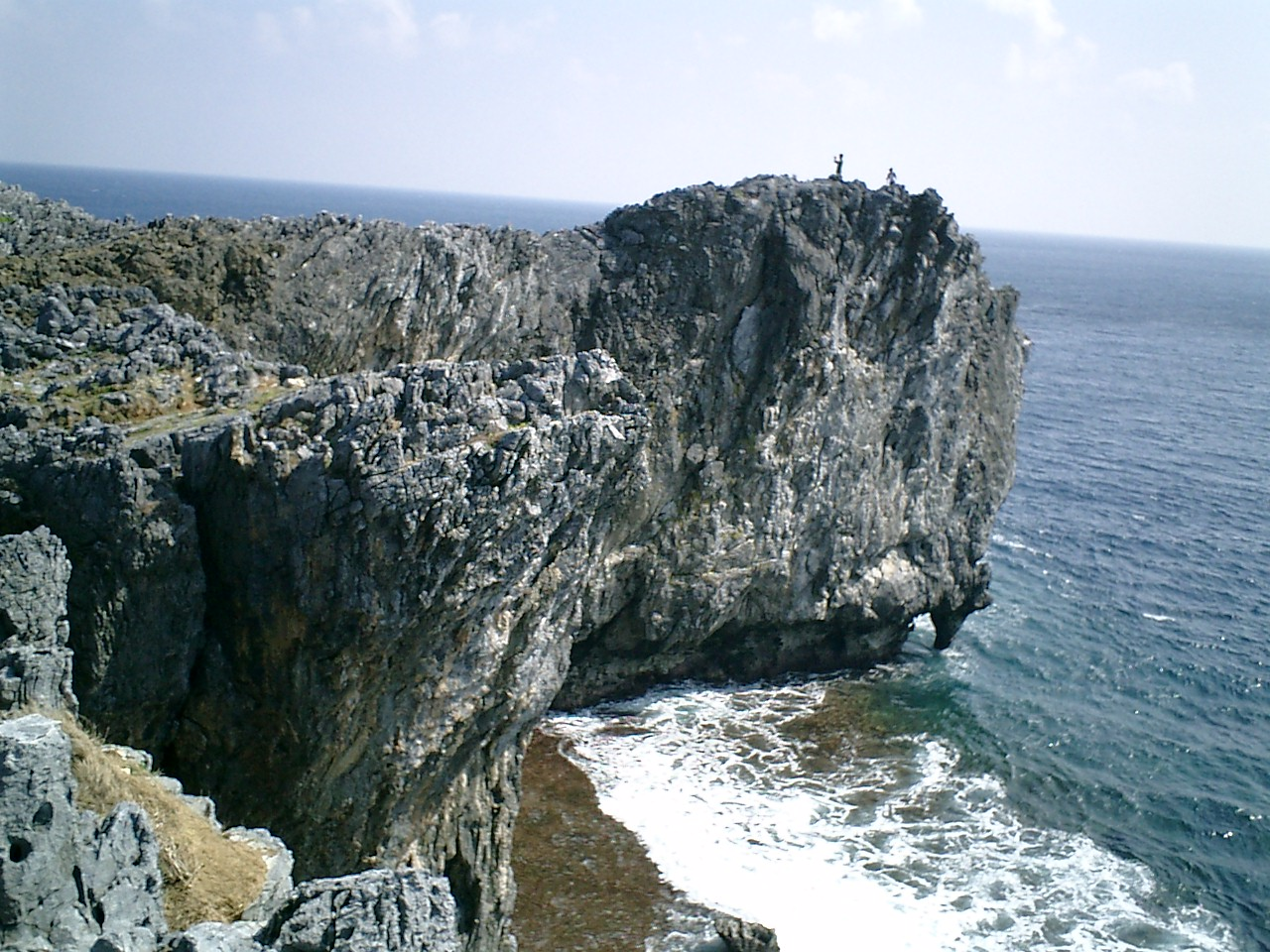 Photo of Cape Hedo in Okinawa