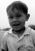 photo of Bobby Dozier in his youth in Tachikawa